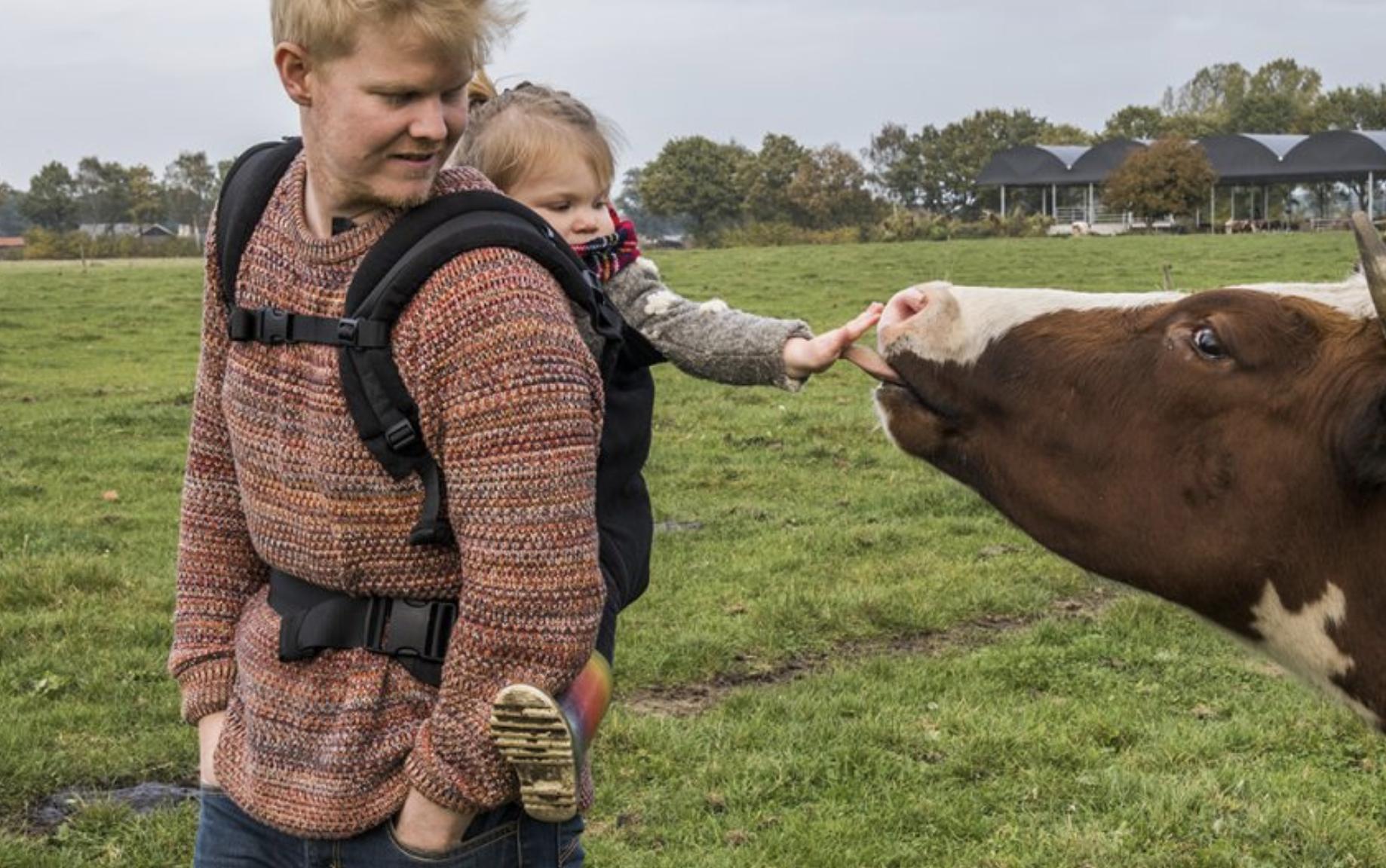rick huis in het veld melkbrouwerij
