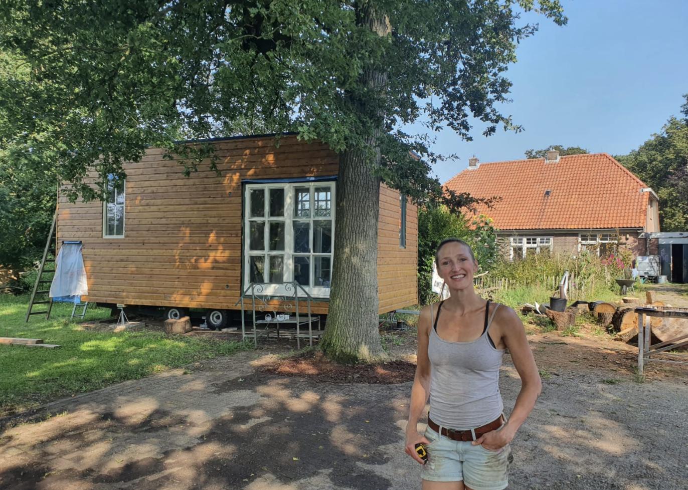 gerdine vermeer tiny house eigen foto